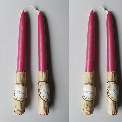 Kerzen aus dem Nebelwald - Medianos pink